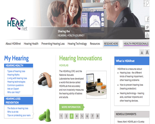 hearing loss corporate seo sydney australia hearing aids cochlear implants problems