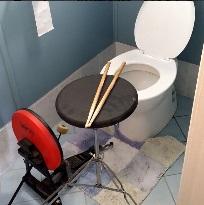 toilet drum for drummingco