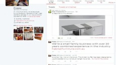 twitter page habitat furniture